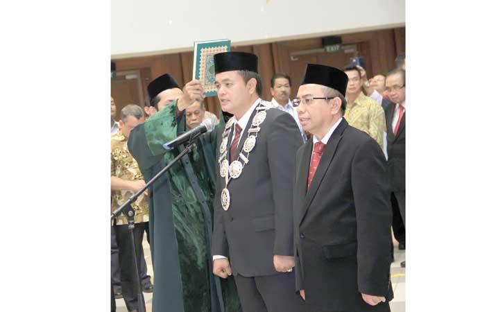 Rektor Unsyiah Lantik Dekan FK dan FKH