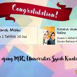 Juara MTQ Pada Universitas Syiah Kuala